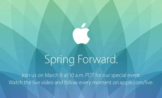 Apple Event「Spring Forward.」