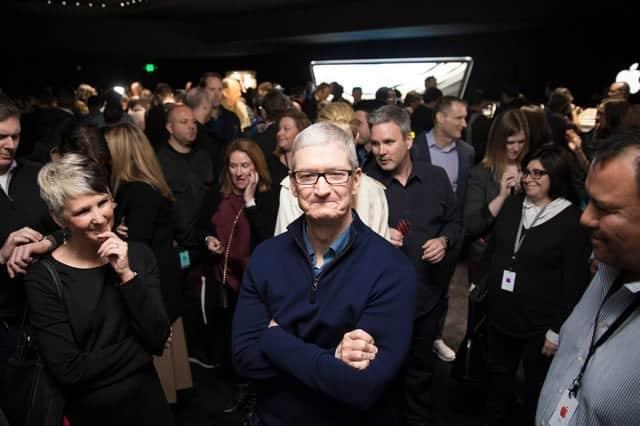 史上初!アップルの時価総額が1兆ドル突破