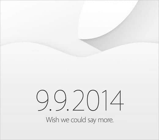 正式発表キタ!iPhone 6が発表されると噂されまくっているイベントが9月9日に確定!
