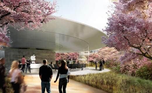 アップルの宇宙船のような新社屋