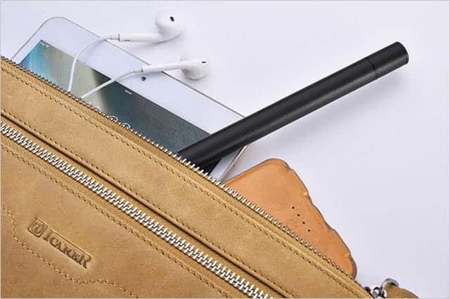 PUレザーとアルミでApple Pencilをしっかり守るケース