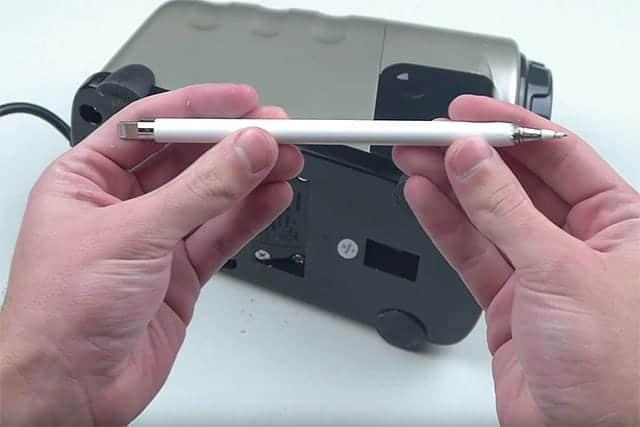 Appleペンシルをここまで削りまくったX-ACTOの電動鉛筆削り機