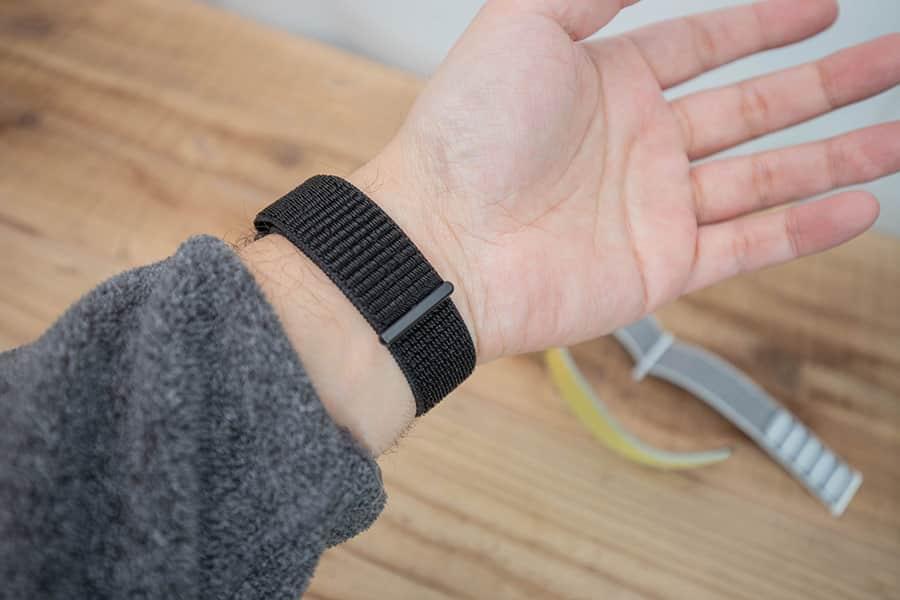 ピュアブラックとApple Watch