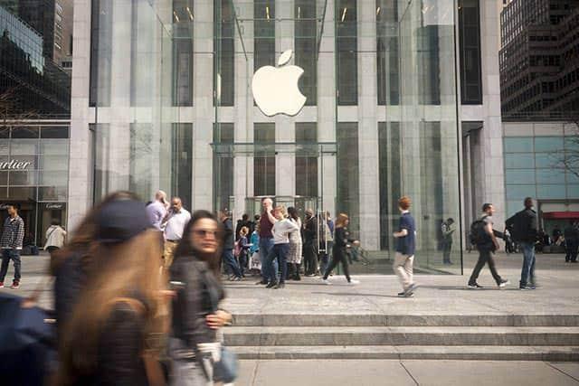 アップルストア、iPhone販売に占めるシェアが低下