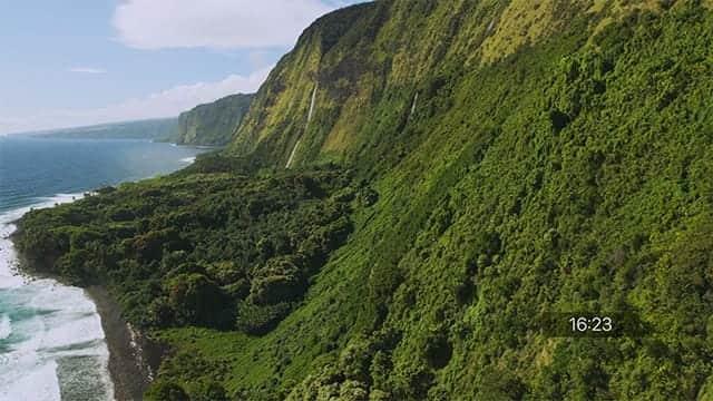 ハワイのスクリーンセーバー