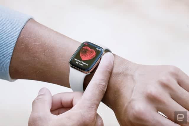 Apple Watch Series 4の心電図は日本では使えません
