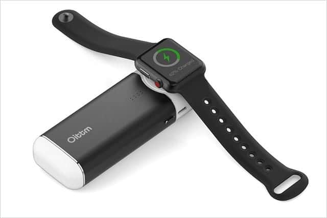 5000mAh!Apple Watchを約6〜7回充電できるモバイルバッテリー 出張や外出時に超便利!
