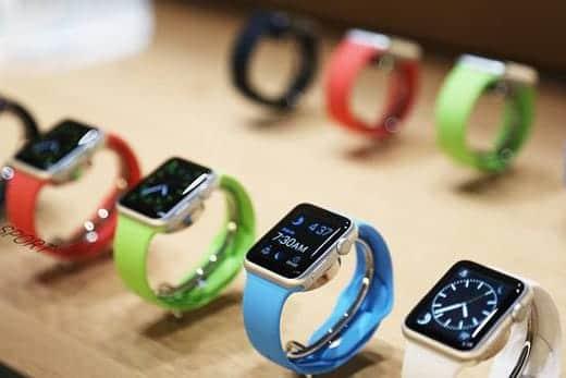 店頭に並ぶApple Watch