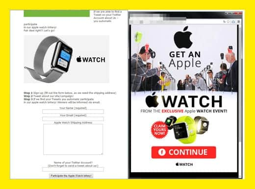Apple Watch 詐欺サイト