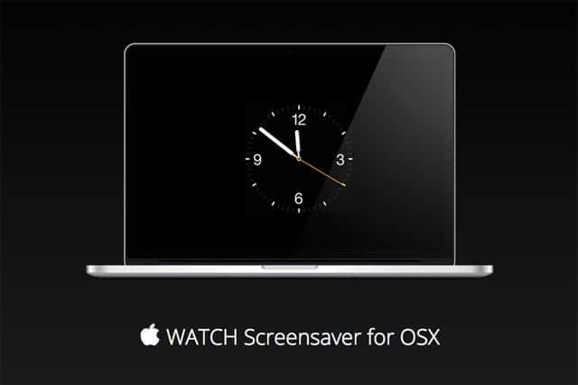  WATCH Screensaver for OSX