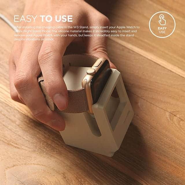 elago W3 STAND Apple Watch 専用充電スタンド 使い方かんたん