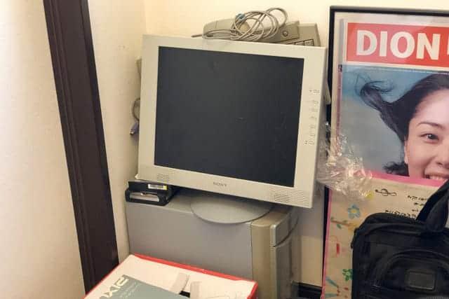 部屋の隅にずーっと放置してたWindowsパソコン