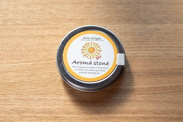 自宅でも外出場所でも香りを楽しめるアロマストーン