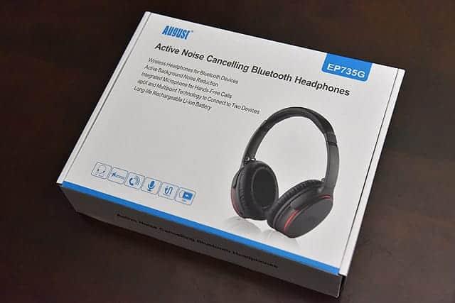 August Bluetooth ノイズキャンセリングヘッドフォン 特徴