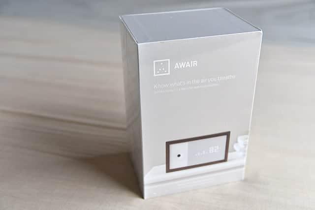 空気品質モニター『Awair』の特徴と開封写真