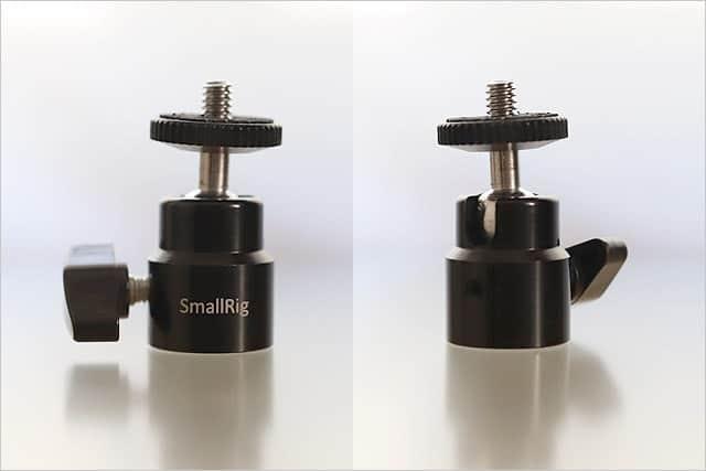 SmallRigの自由雲台