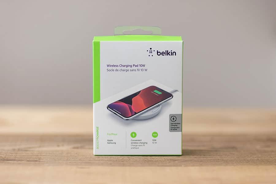 Belkin BOOST↑UP ワイヤレス充電器 WIA001 パッケージ
