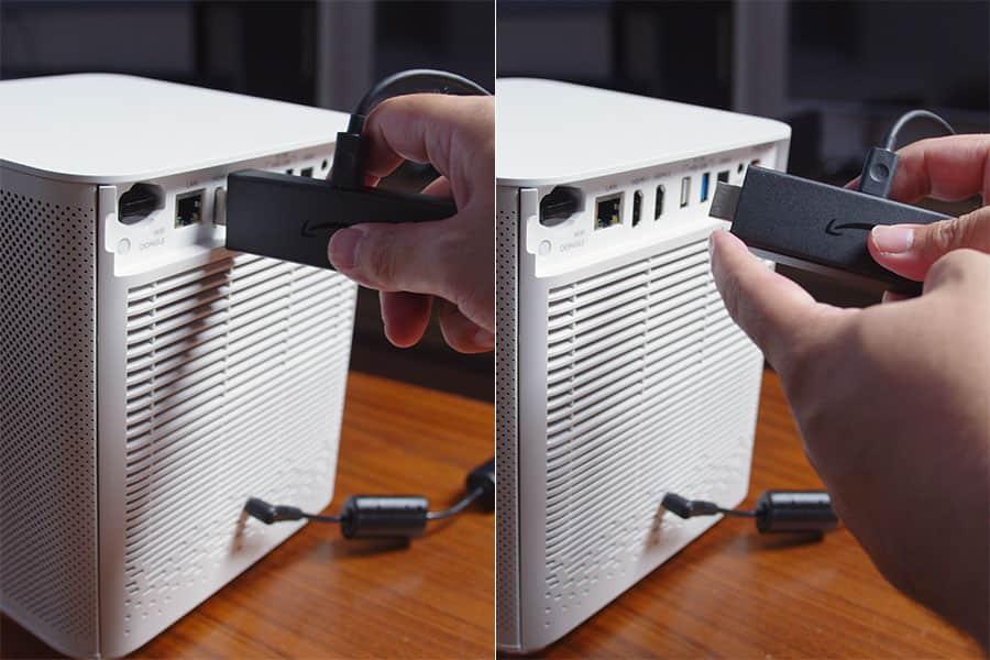 GK100にFire TV Stick 4Kを接続する際は注意が必要