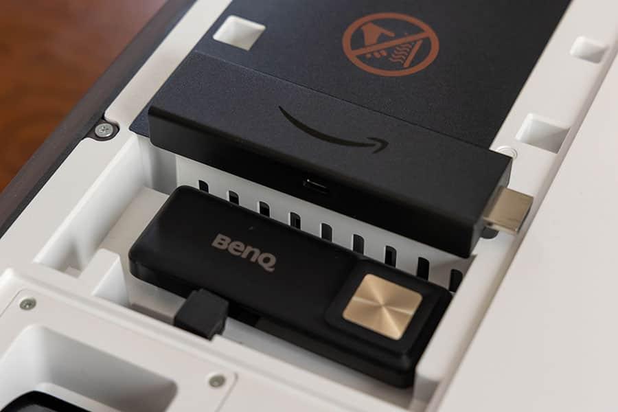 Fire TV Stick 4Kはランプカバーには収納できない