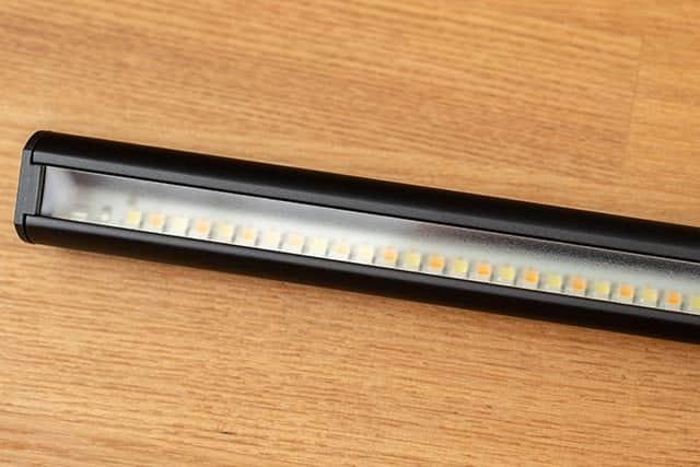 LEDライト部分の拡大写真