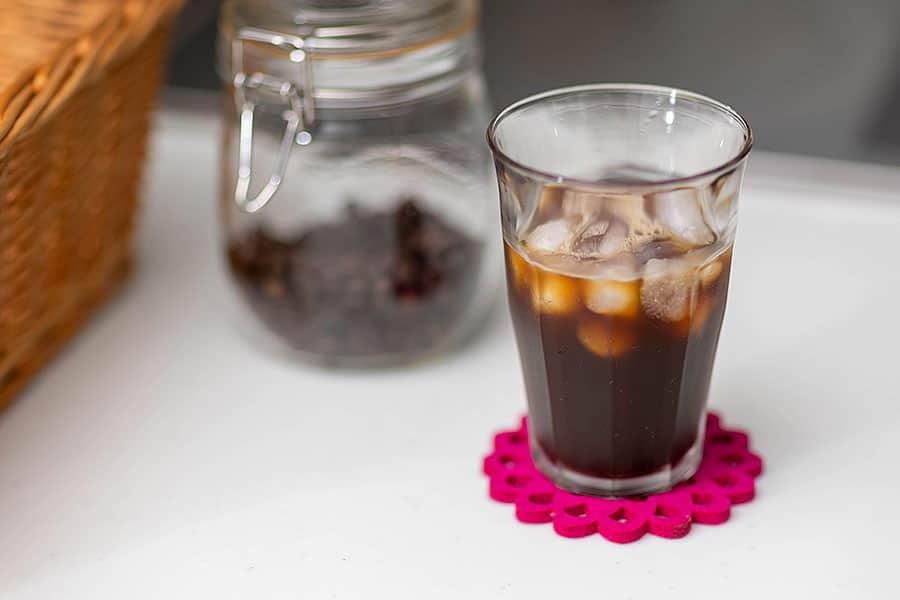 濃くて美味しいアイスコーヒーの出来上がり