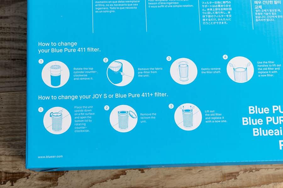 交換方法はパッケージに記載 とても簡単です