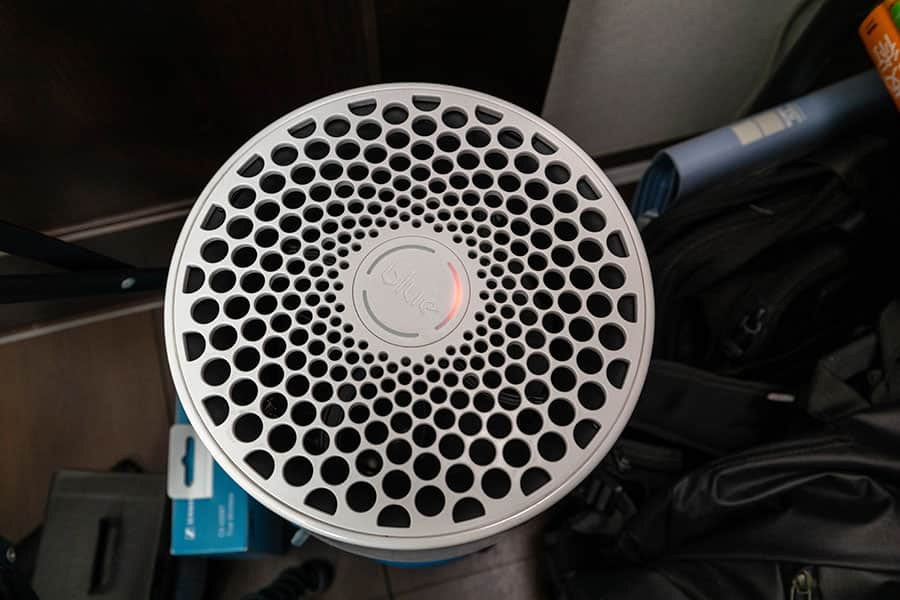 ランプが赤く点灯したBlue Pure 411
