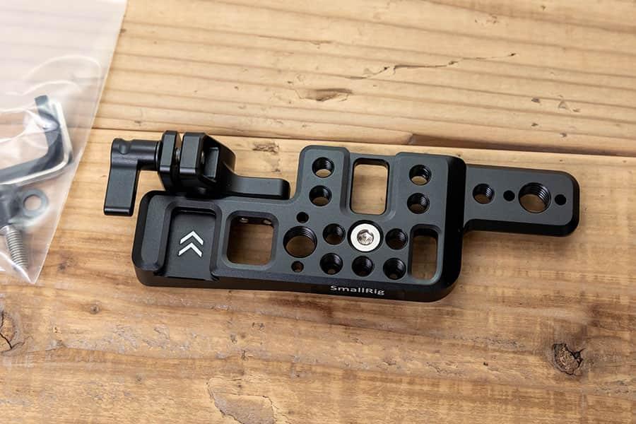 SMALLRIG BMPCC 4K&6K カメラ専用トッププレート APT2510