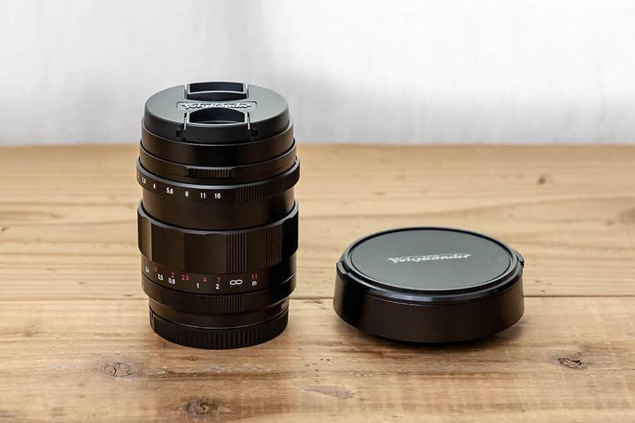 Voigtlander Nokton 25mm F0.95 TypeII レンズフード付き