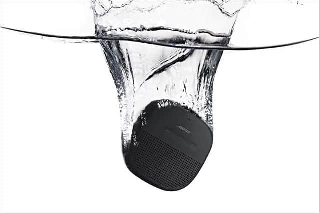 IPX7準拠の高い防水性能