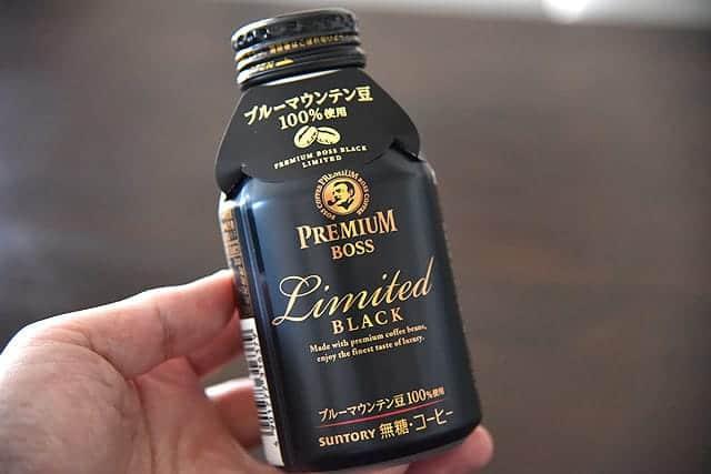 ブルーマウンテン豆100%!セブンイレブン限定324円のプレミアムボスリミテッドブラックのコーヒーを飲んでみた
