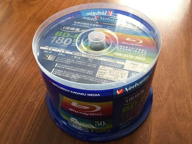 ブルーレイBD-R 三菱化学メディア 50枚スピンドル