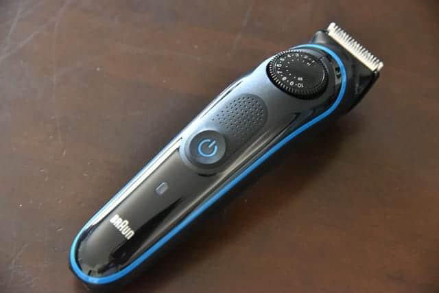 ヒゲのお手入れが超簡単に!0.5mm幅の39段階で微調整できるブラウンの髭剃りバリカン購入&レビュー