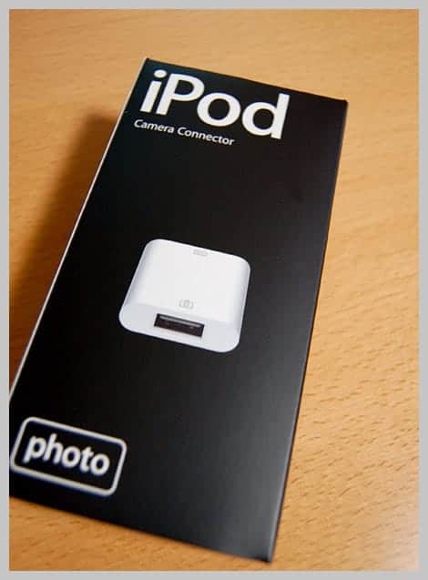 iPod camera Connector