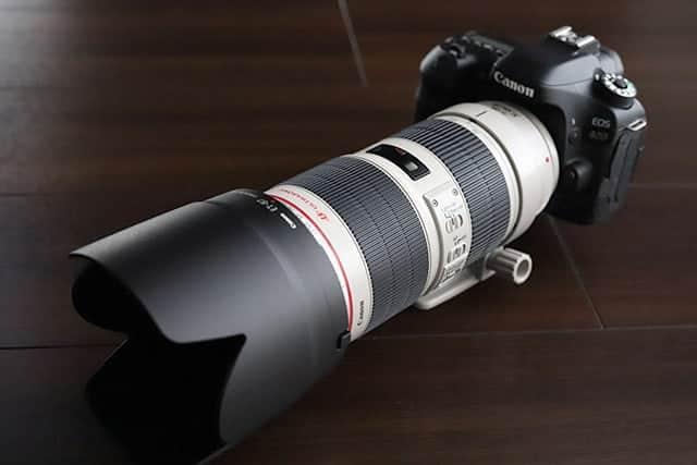 Canon EF70-200mm F2.8L 購入!重いけど素晴らしい描写力の望遠レンズ