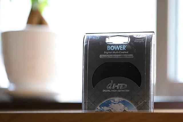 保護フィルターはBowerの可変NDフィルター