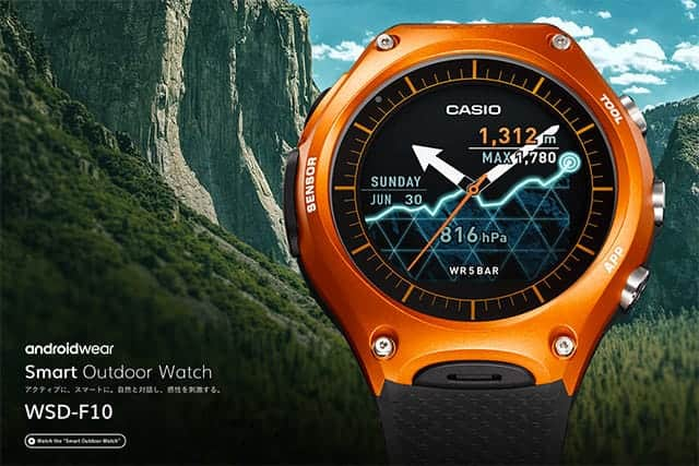 Android Wear [Smart Outdoor Watch] WSD-F10