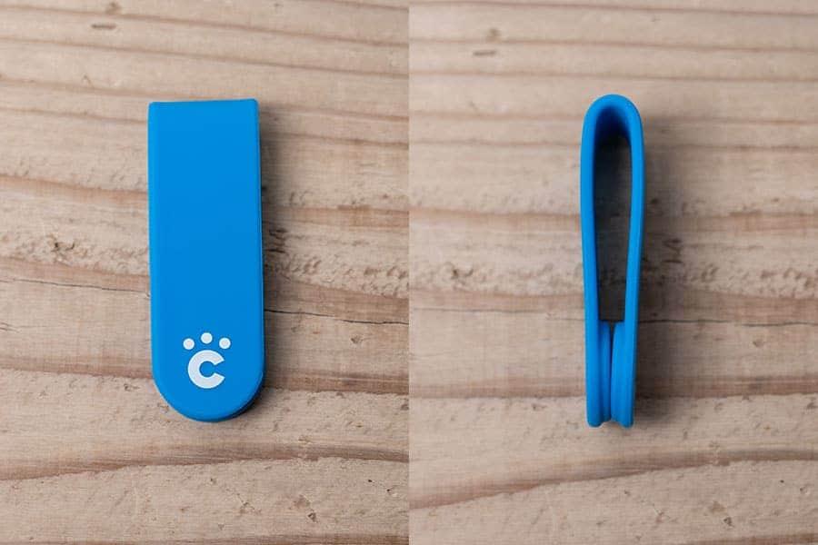小さくて可愛いデザインのクリップ