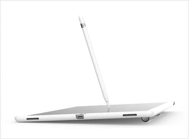 Coverbuddy ホルダーのおかげでiPad Proに自然な傾きが!
