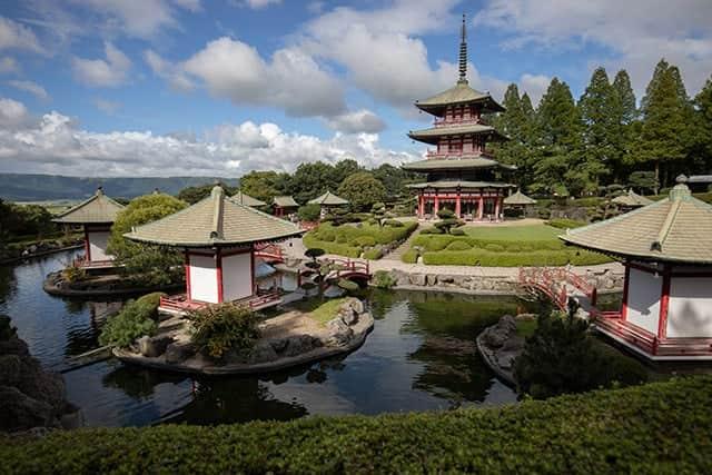 謎の仏閣、十二支苑