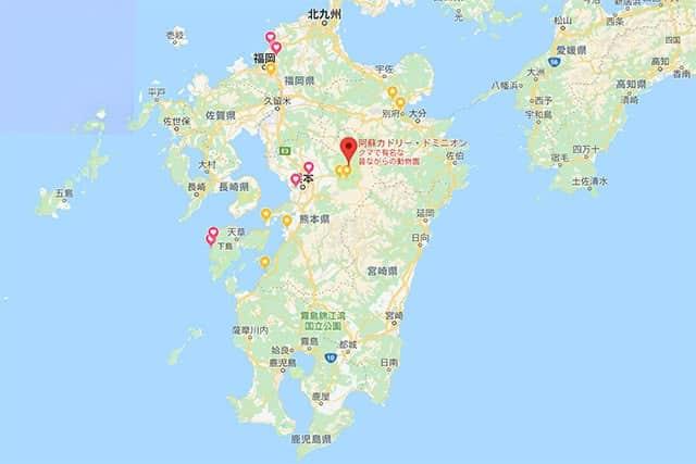 カドリードミニオンのマップ