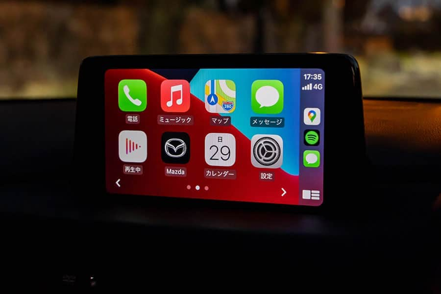 Apple CarPlayに対応