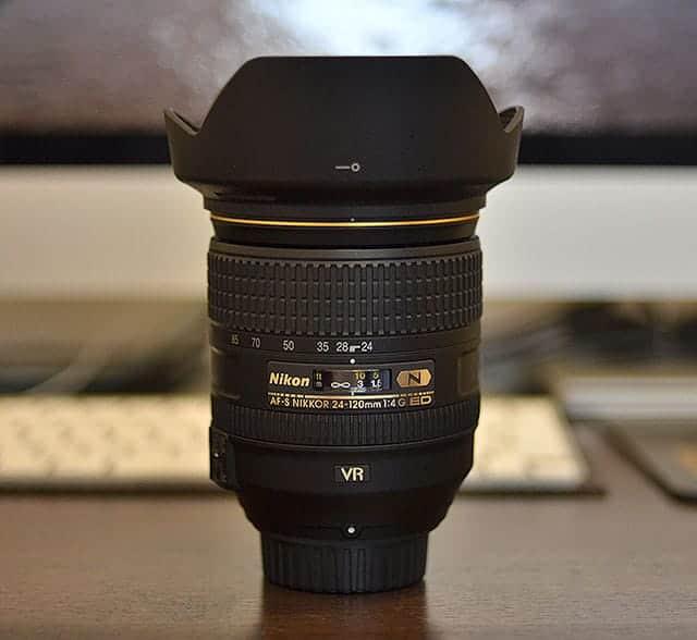 Nikon 24-120mm f4G ED VR
