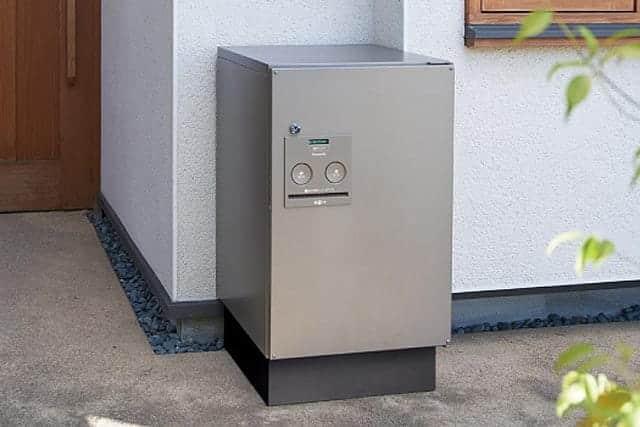 あなたも宅配業者もハッピーになれる宅配ボックス!宅配便が届くのに帰れない時も安心。壁・地面へ簡単設置