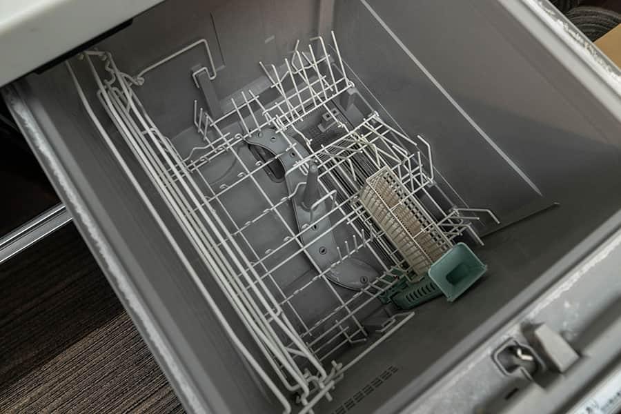 食洗機の中