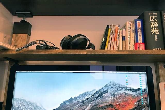 【DIY】iMacの大きさに合わせて棚を自作してみた