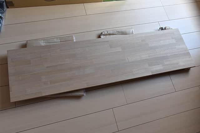 タモ材の棚板1枚