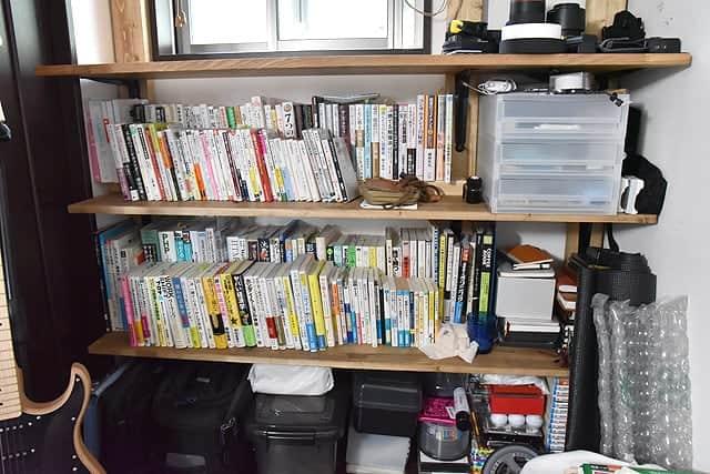 本棚の全貌を把握しやすくなった