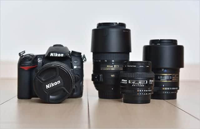 今回収納するカメラとレンズ