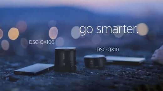 DSC-QX100とDSC-QX10